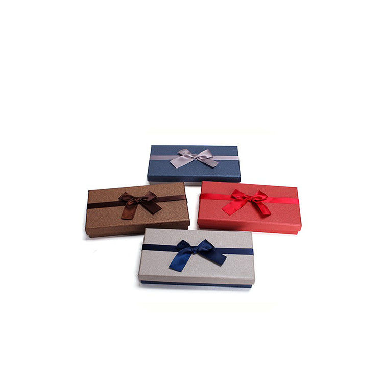 Kraft Paper Personalised Cardboard Gift Boxes / Shipping Boxes For Packing Clothes