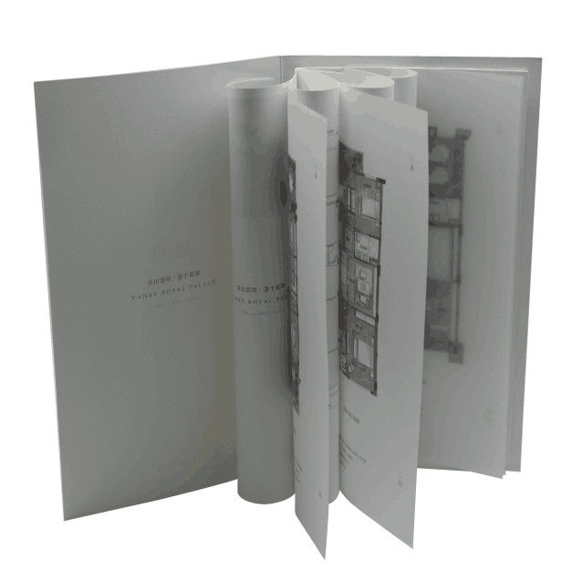 Professional Hardcover Picture Book / Hard Page Photo Book Recycled Material