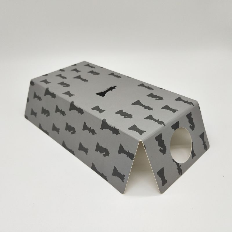 Gray Personalised Packaging Boxes , Custom Colored Corrugated Mailing Boxes